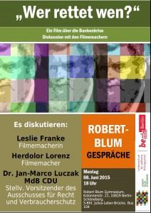 Robert Blum Gespräche 8.6.15 jpg
